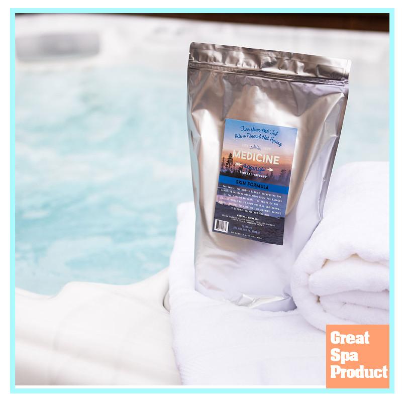Hot Tub Skin Formula from Medicine Springs