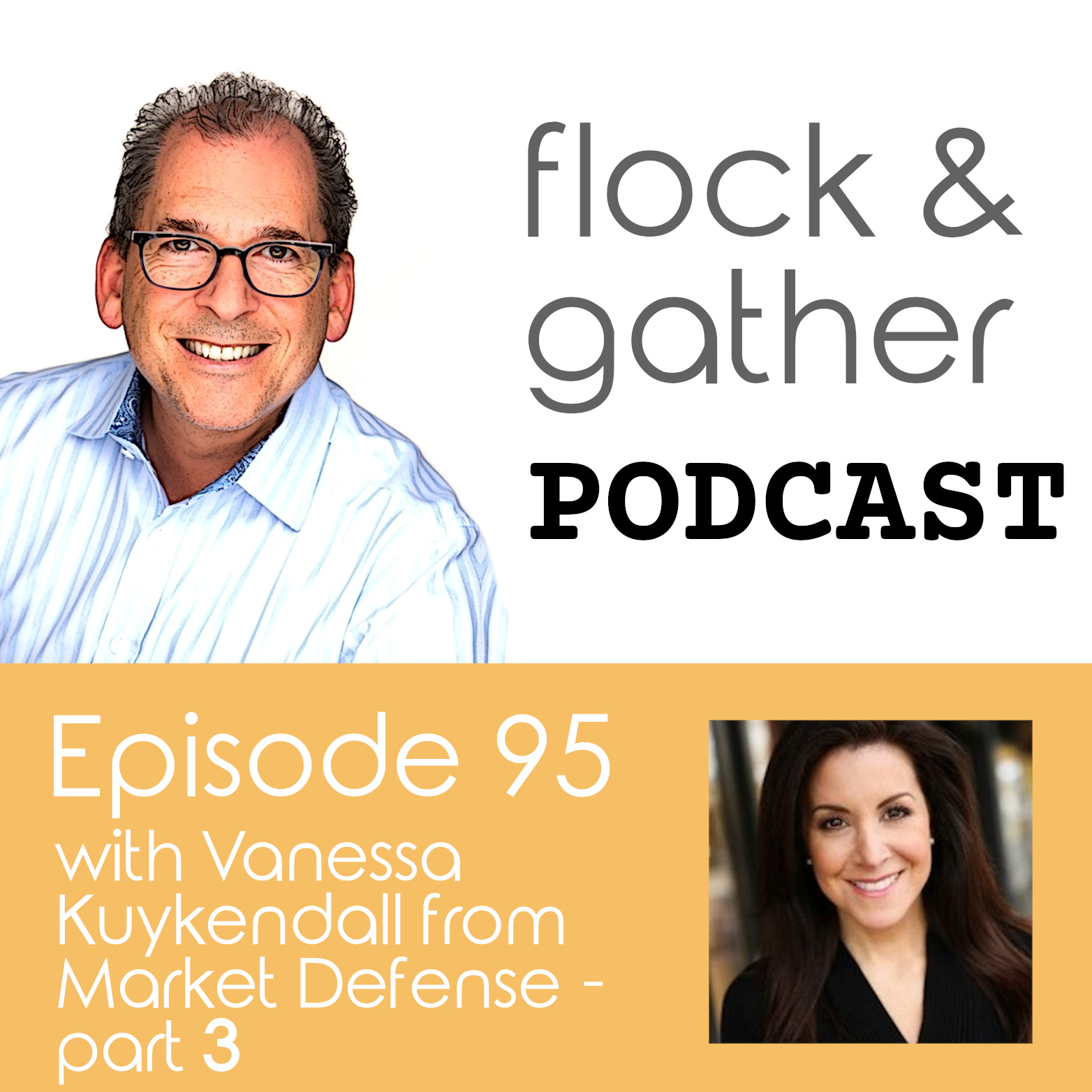 Flock and Gather Podcast.  Episode 95 with Vanessa Kuykendall from Market Defense - Part 3
