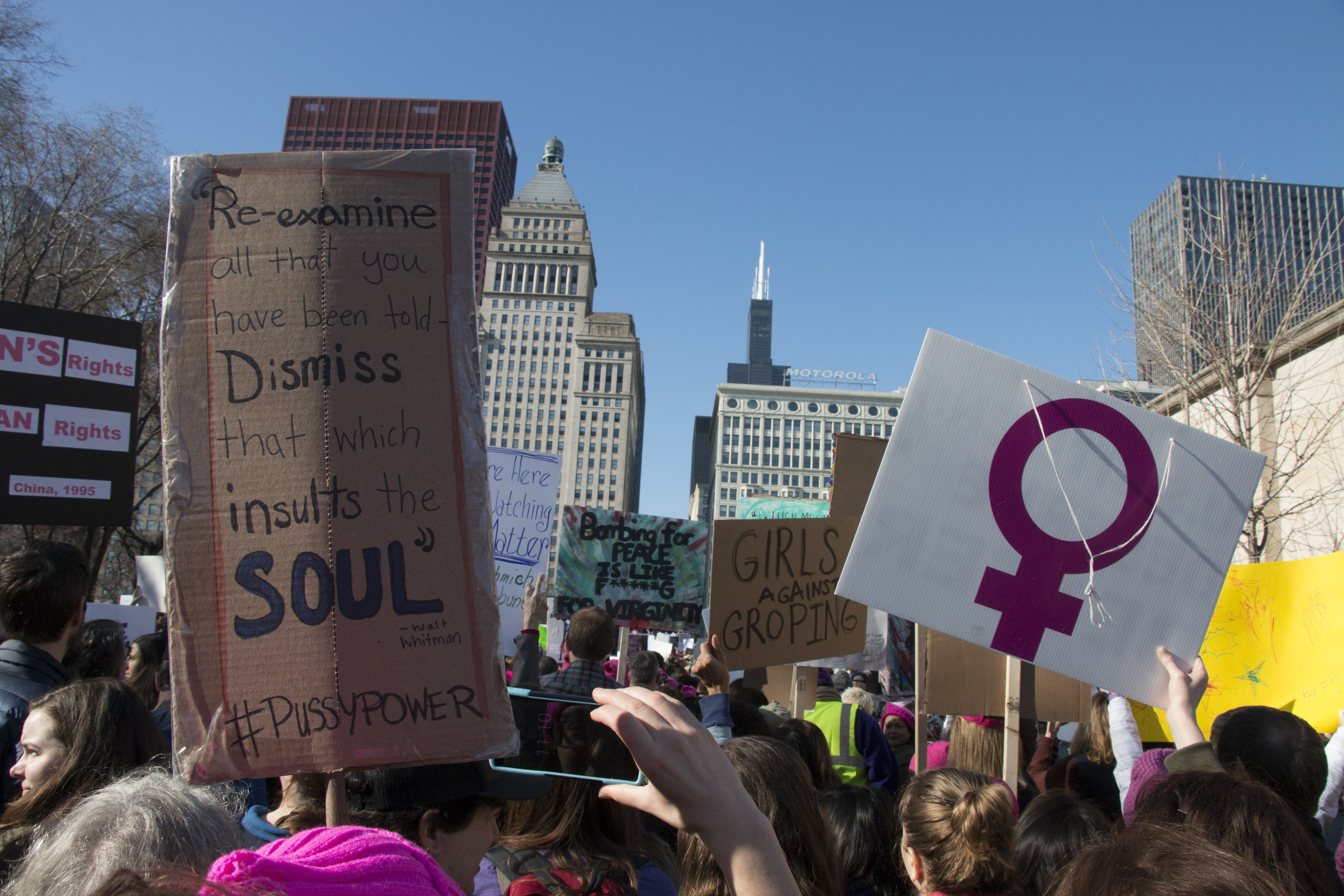 Chicago Women's March | January 21st, 2017