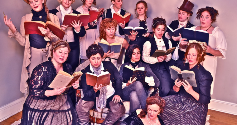 Improvised Jane Austen | iO Theater, October 15th, 2019