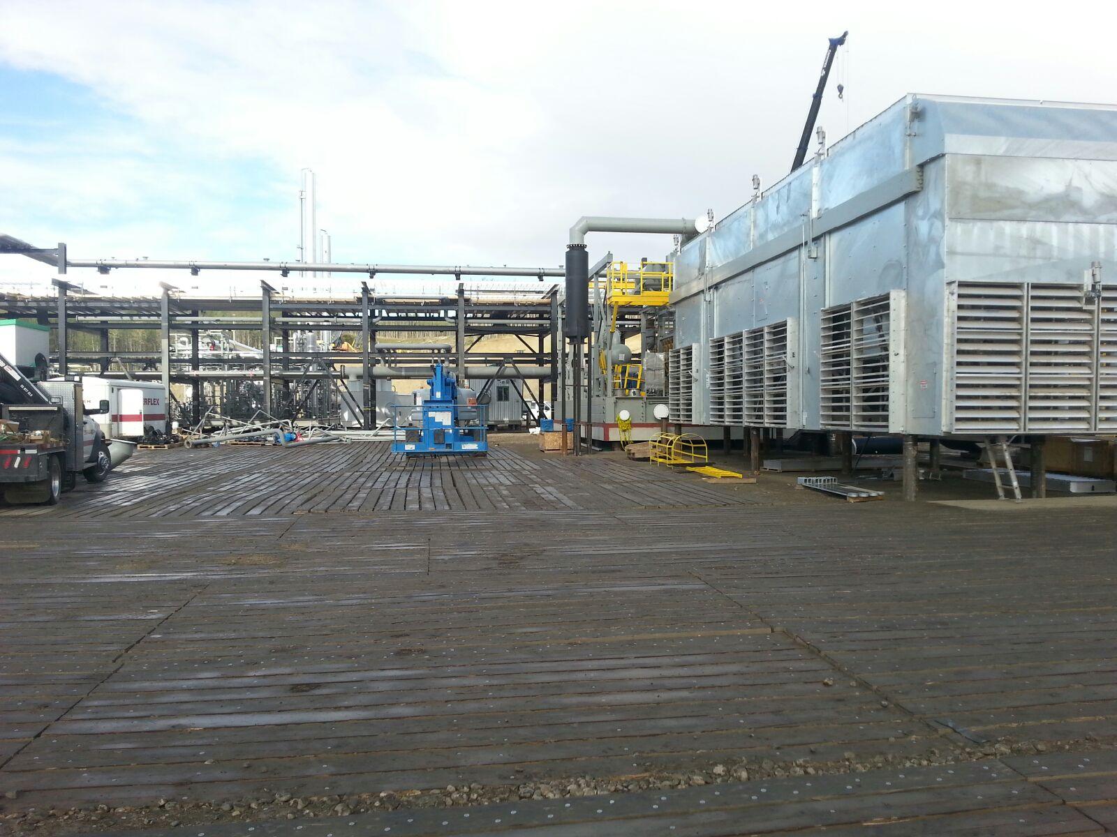 Deep Cut Gas Plant Cogeneration Gas Plant Construction