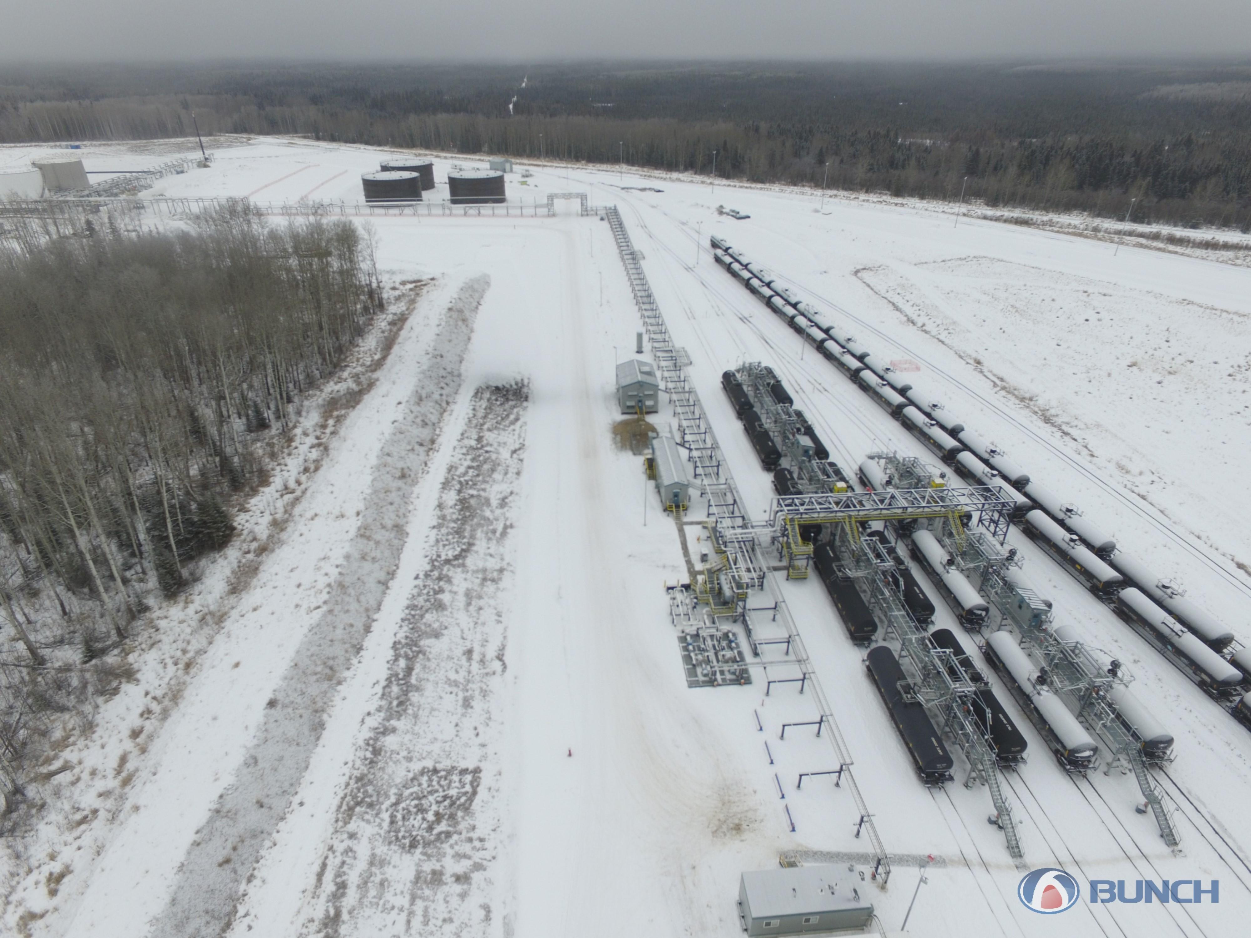 Bunch Rail Terminal Facility Construction