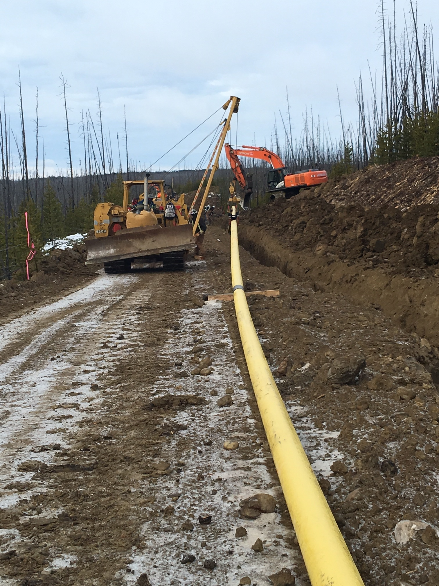 Bunch Pipeline Installation