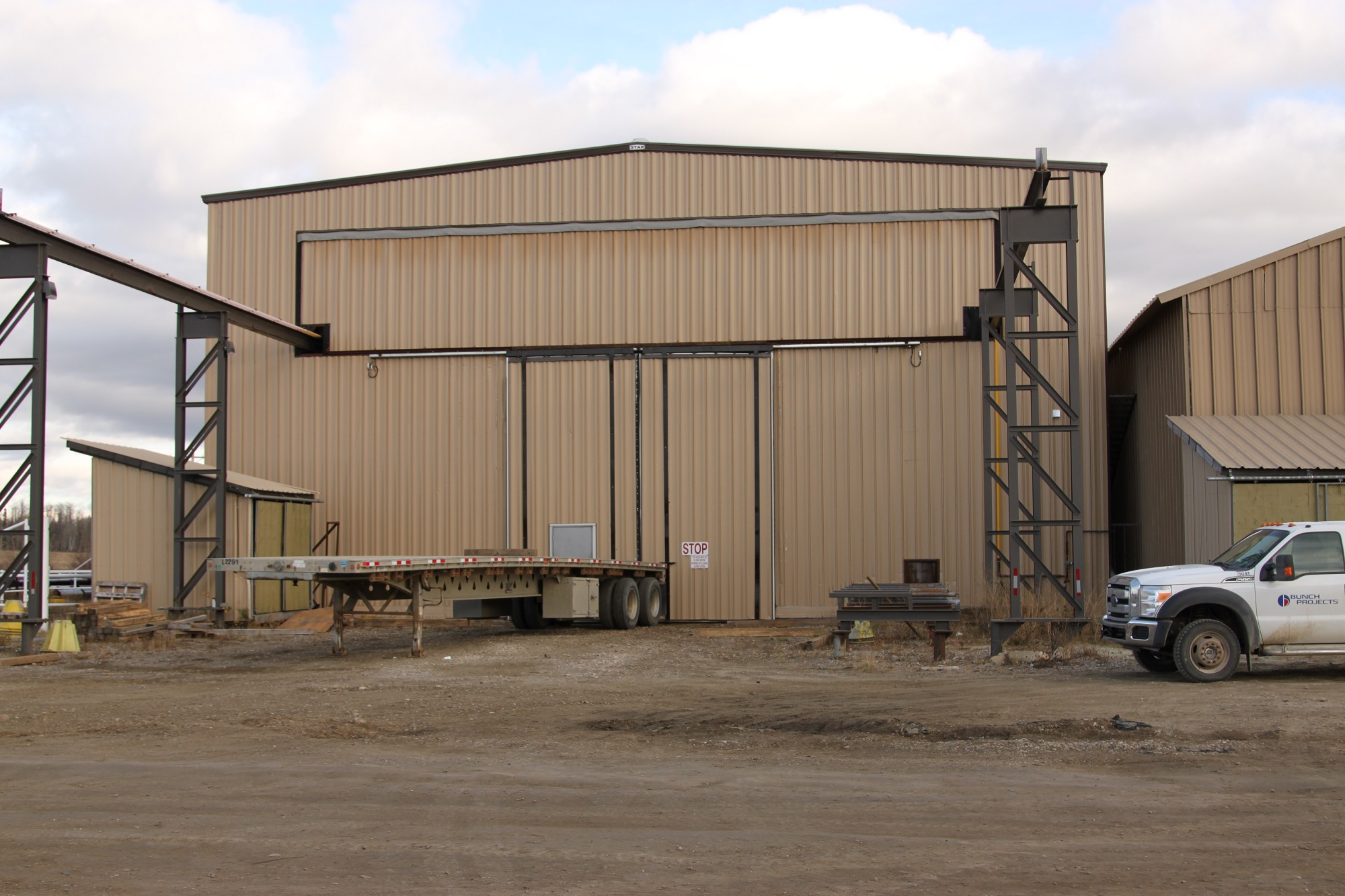 Bunch Structural and Piping Fabrication Shop