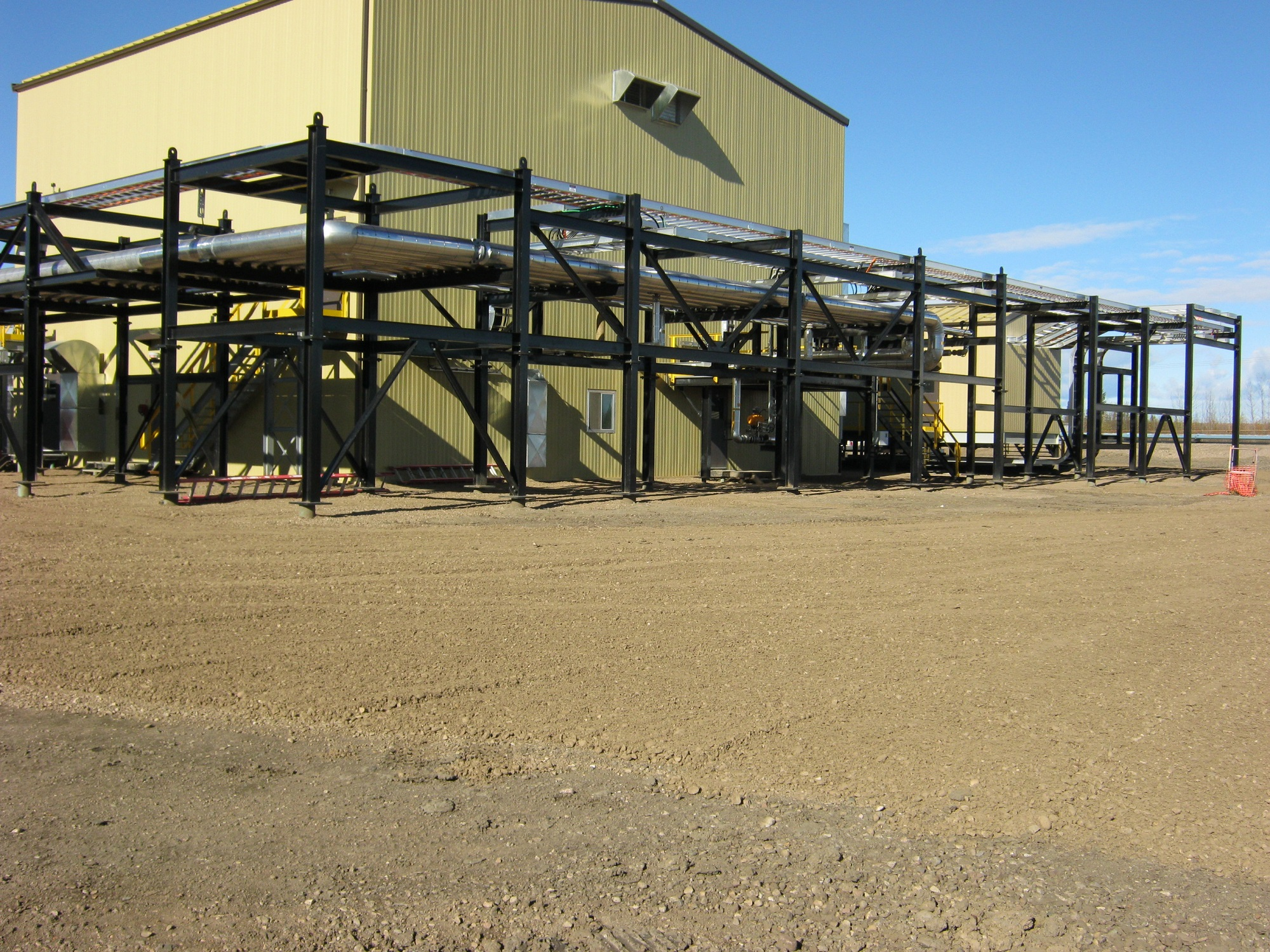 Oil and Gas Facility Module Construction