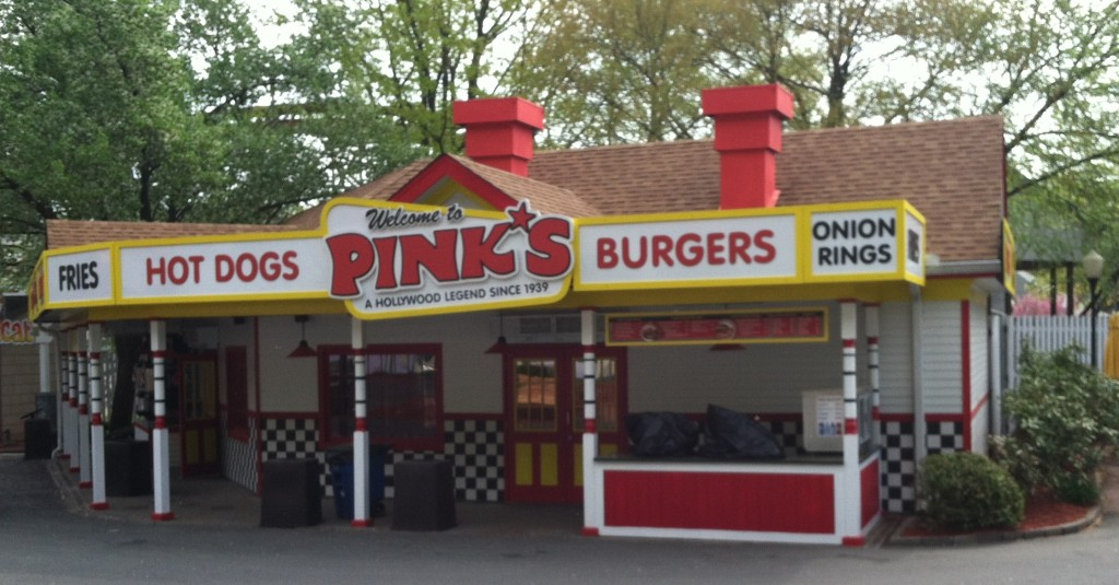 pinks stand