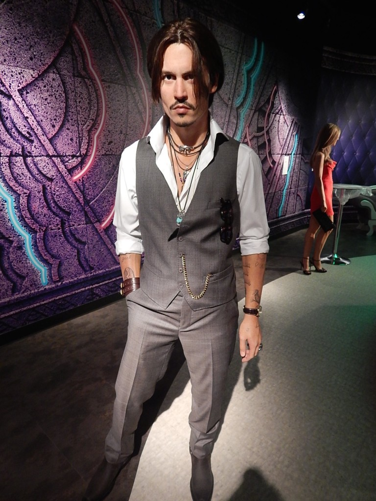 Madame Tussauds Johnny Depp