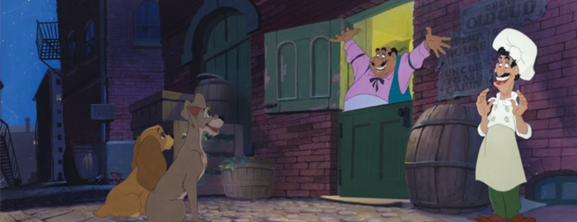 Lady & The Tramp Original Cel