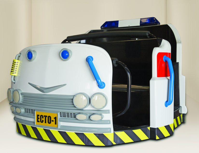 Ghostbusters Ecto-Pod FRONT