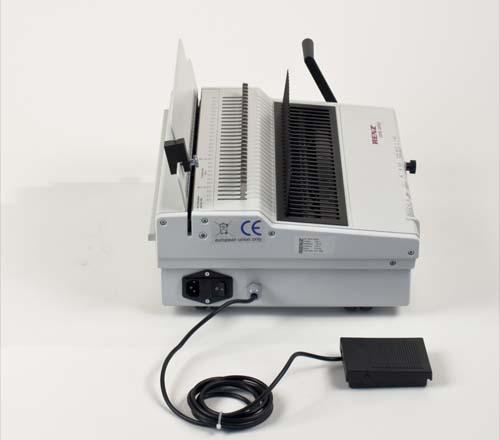 Combi Comfort Plastic Comb Binding Machine by Renz image 5