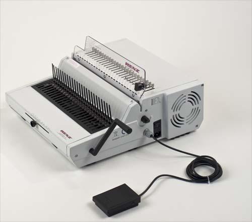 Combi E Plastic Comb Binding Machine by Renz image 1
