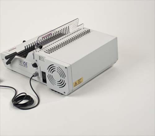 Combi E Plastic Comb Binding Machine by Renz image 3