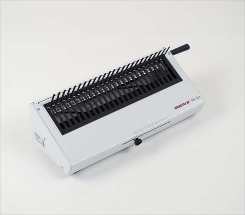 PBS 340 Plastic Comb Manual Closing Machine by Renz image 8