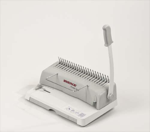 Renz Private Bind Plastic Comb Binding Machine