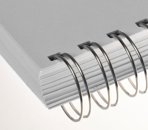 Ring Wire Silver Transparent