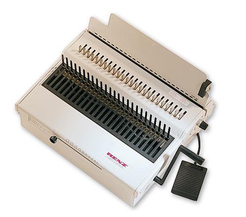 Combi Comfort Plastic Comb Binding Machine by Renz image 1