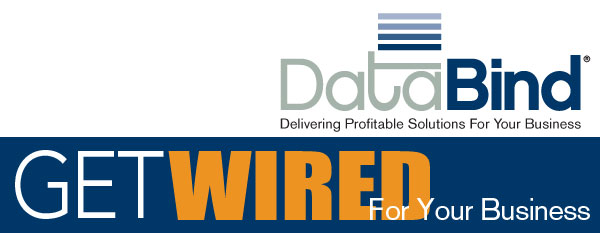 DataBind September 2015 Newsletter - Get Wired For Your Business