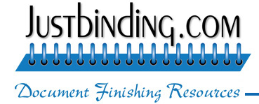 JustBinding.com - Expert Solutions in Document Binding and Finishing Technologies