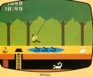 Pitfall Computer Game
