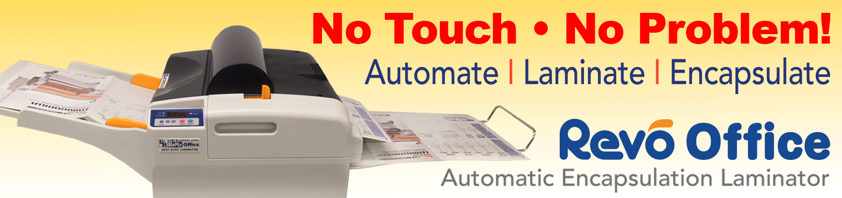 Revo Office Automatic Encapsulation Laminator