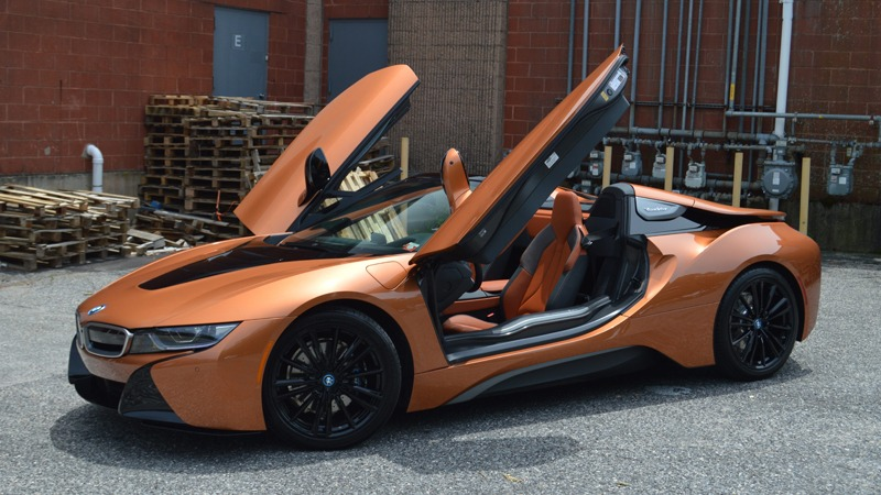 BWM i8 Roadster For Rent, Long Island Exotic Cars