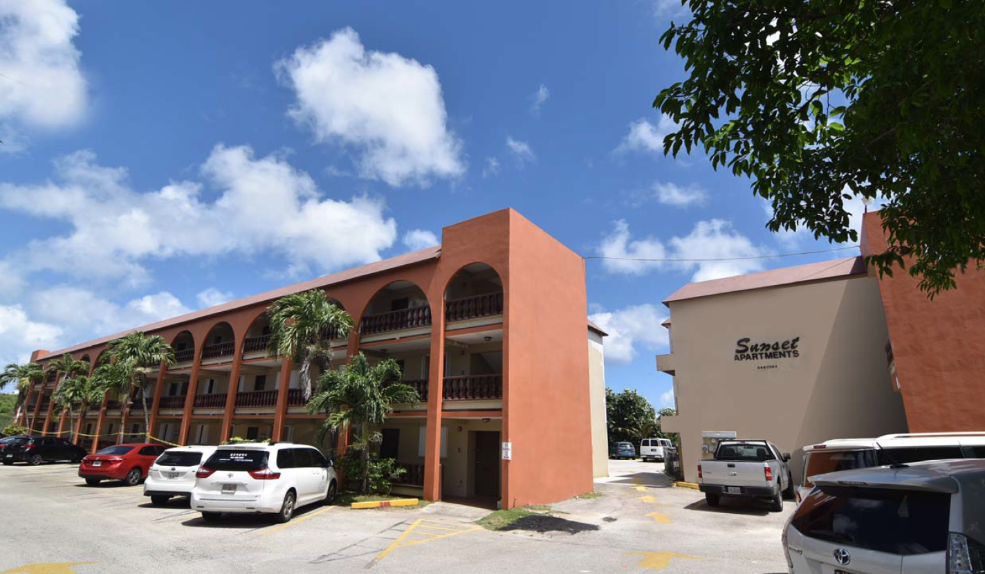 Sunset Apartments -Fully Occupied!