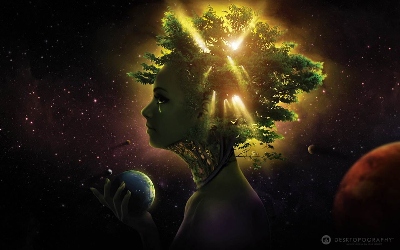 Animism, Gaia, Mother Nature