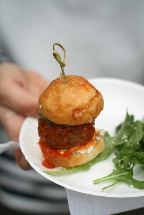 01 - Locanda Verde - Lamb Meatball Sliders