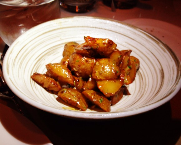 all'onda - jerusalem artichokes