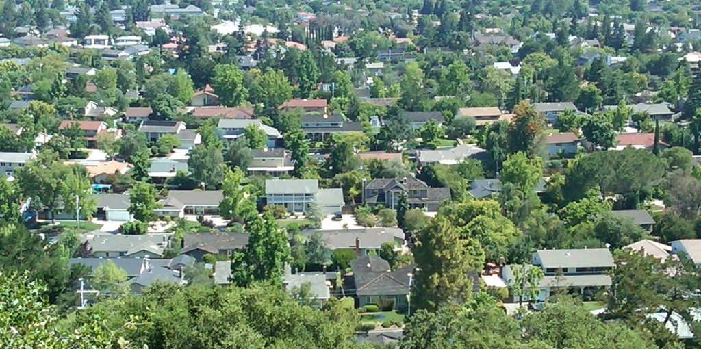 View of Belwood of Los Gatos from Harwood Court, Los Gatos