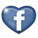 facebook heart icon - Belwood of Los Gatos July 4th Celebration