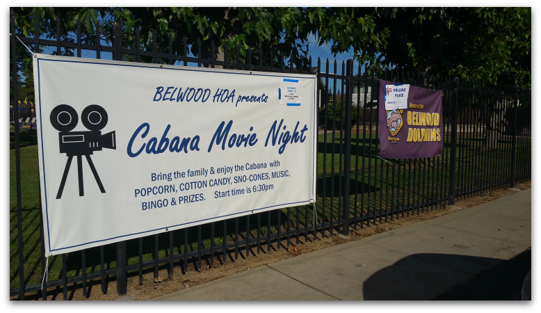 Belwood Cabana Movie Night - Belwood Bingo and Movie Nights Coming Soon