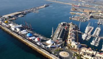 Autoridad portuaria de Alicante: realización de desinfecciones periódicas para evitar la propagación del COVID-19.