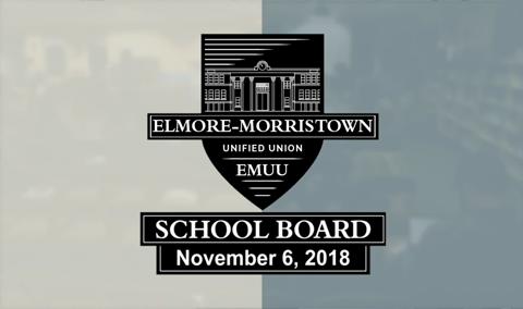 Elmore-Morristown Unified Union School Board, 10/6/18