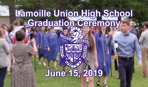 Lamoille Union High School Graduation, 2019