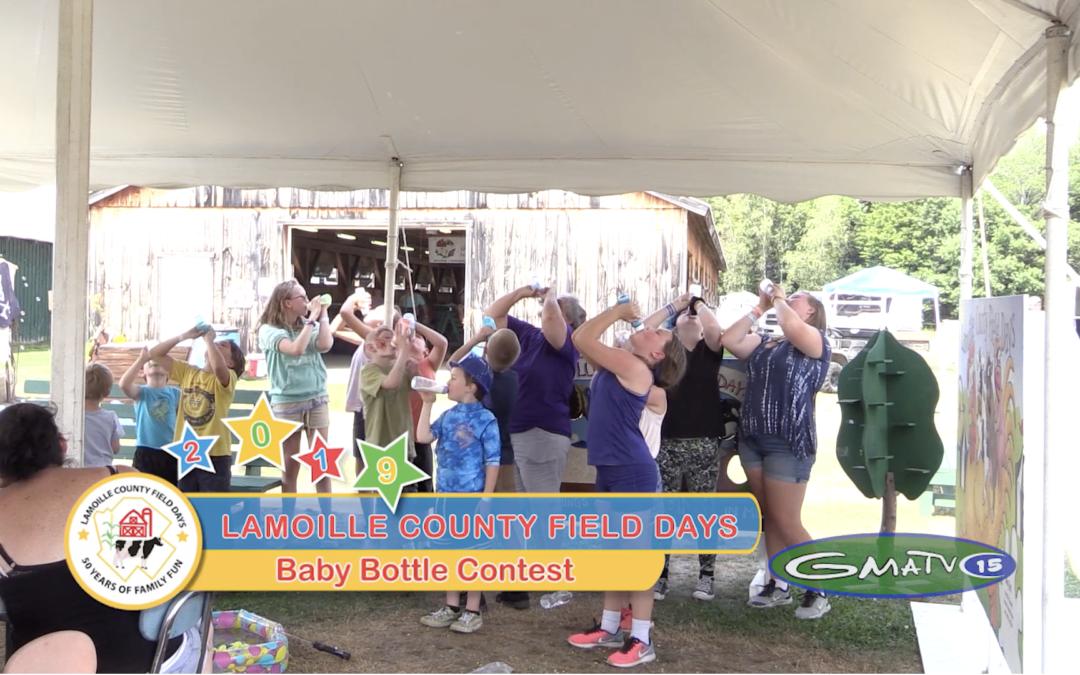 Field Days, 2019 – Baby Bottle Contest