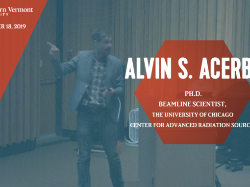 Current Topics in Science Series – Alvin S. Acerbo, Ph.D