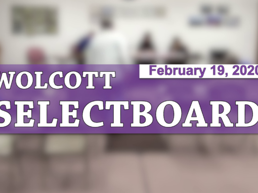 Wolcott Selectboard, 2/19/20