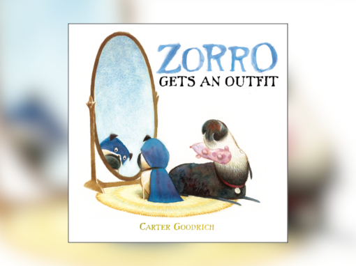 """Grannie Snow reads """"Zorro Gets an Outfit"""""""