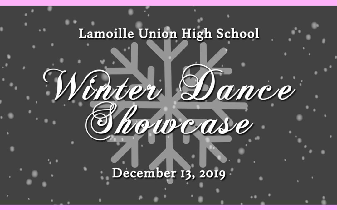 Lamoille Union High School Dance, Winter 2019