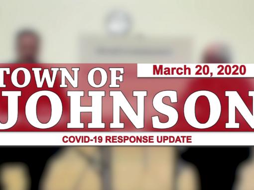 Johnson COVID-19 Response Update #1, 3/20/20