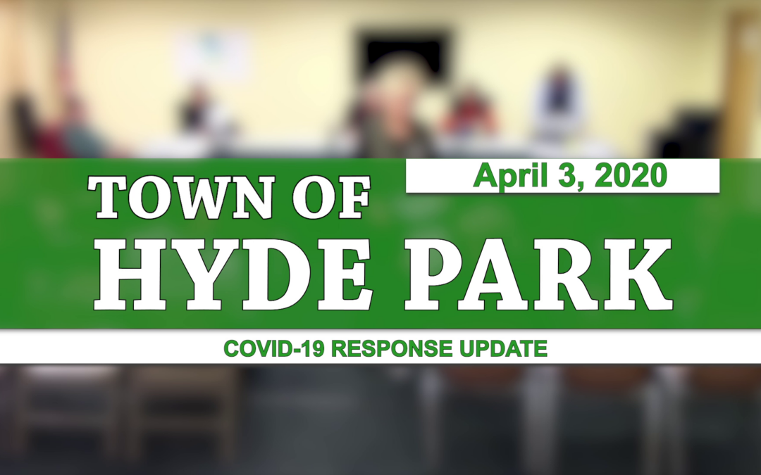 Hyde Park COVID-19 Response Update #2, 4/3/20