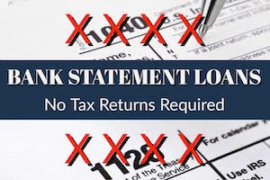Bank Statement Loans for Self Employed or W-2 Wage Earners in Arizona No Tax Returns Required
