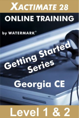Xactimate Course Georgia CE by Watermark