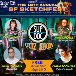 Sup Doc Podcast Documentary Quiz Show