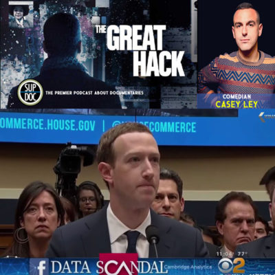 Ep 129 THE GREAT HACK with comedian Casey Ley