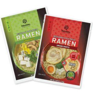 shoyu miso fresh ramen