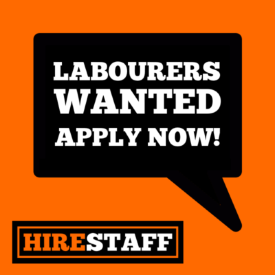 Hirestaff - Labourers Wanted - Facebook