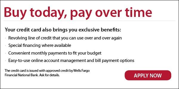 Financing Link to Wells Fargo