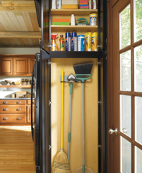 Creative Kitchen Ideas for the End of Your Cabinets